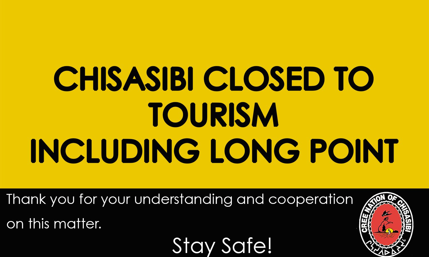 CLOSED TO TOURISM