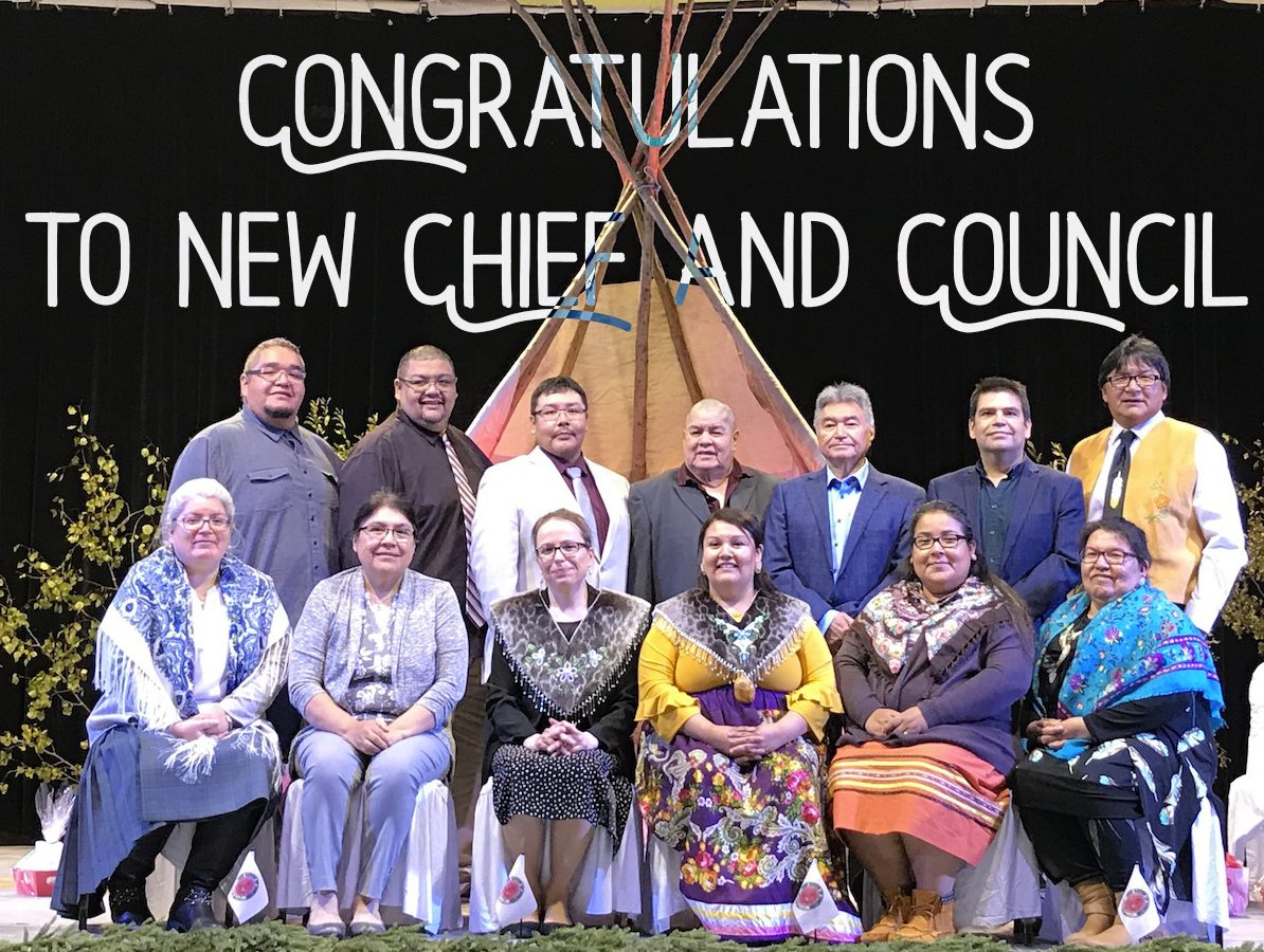 Chief and council 2020